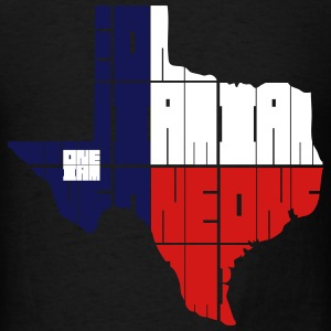 ONE IAM BLOCK - TEXAS T-Shirts - Men's T-Shirt