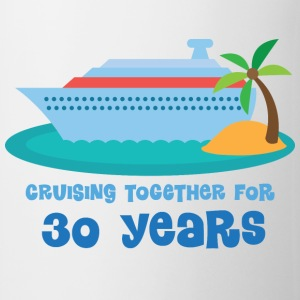 30th Anniversary Gift (Cruise) Bottles & Mugs - Coffee/Tea Mug
