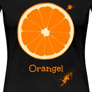 Orange - Women's Premium T-Shirt