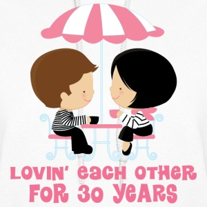 30th Anniversary Couple Hoodies - Women's Hoodie