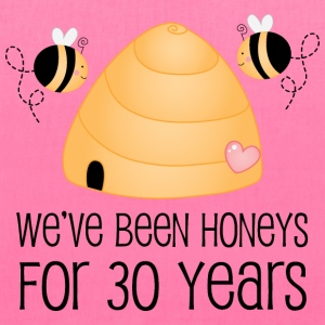 30th Anniversary Honey Bees Bags & backpacks - Tote Bag