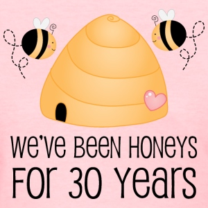 30th Anniversary Honey Bees Women's T-Shirts - Women's T-Shirt
