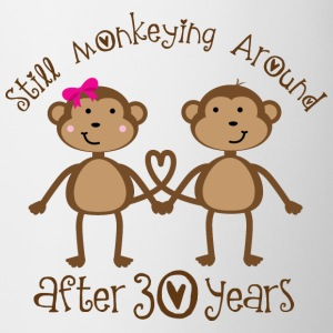 30th Anniversary Monkeying Around Bottles & Mugs - Coffee/Tea Mug