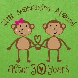 30th Anniversary Monkeying Around Bags & backpacks - Tote Bag