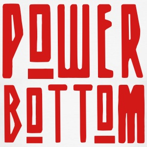 Power Bottom T-Shirts - Men's Ringer T-Shirt