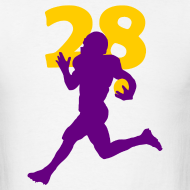 Design ~ Peterson Superstar #28 Vikings Shirt