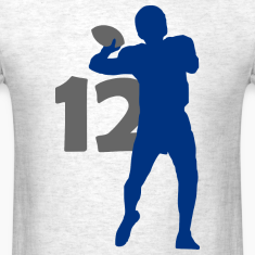 Luck Superstar #12 Colts Shirt