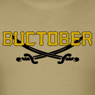 Design ~ Buctober Pirates Shirt Playoffs Pittsburgh