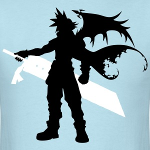 Cloud Silhouette T-Shirts - Men's T-Shirt