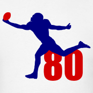 Design ~ Johnson SUPERSTAR #80 Texans Shirt