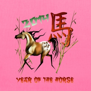 Chinese New Years-Year Of The Horse. - Tote Bag
