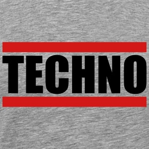 Techno Logo Design T-Shirts - Men's Premium T-Shirt