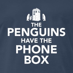 The Penguins Have the Phone Box