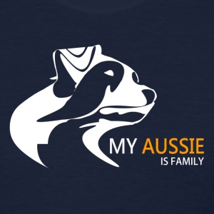 My Aussie is Family - Women's T - Women's T-Shirt