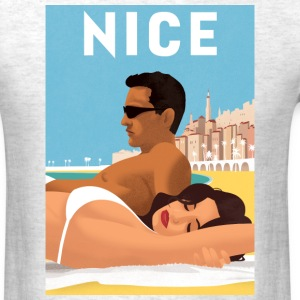 So nice in Nice - Men's T-Shirt