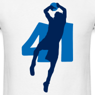 Design ~ Dirk SUPERSTAR #41 Mavericks Shirt