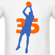 Design ~ Durant SUPERSTAR #35 Thunder Shirt
