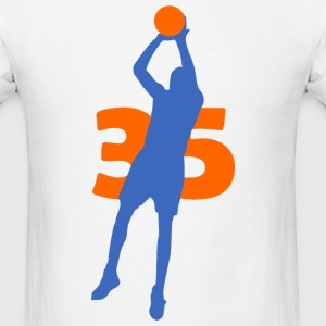 Durant SUPERSTAR #35 Thunder Shirt - Men's T-Shirt