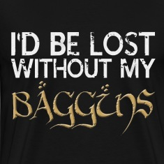Lost Without My Baggins