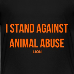 Stand Against Animal Abuse - Kids' Premium T-Shirt