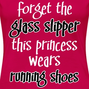 running shoes princesss Women's T-Shirts - Women's Premium T-Shirt