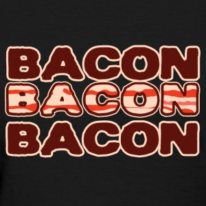 I Wear Bacon Heart x3 Women's T-Shirts - Women's T-Shirt