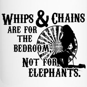 Whips and Chains are for the Bedroom Bottles & Mugs - Travel Mug