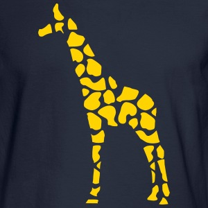 giraffe pattern Long Sleeve Shirts - Men's Long Sleeve T-Shirt