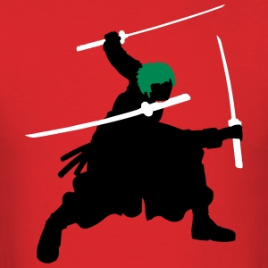 Zoro Swords Silhouette T-Shirts - Men's T-Shirt