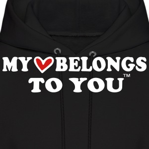 MY HEART BELONGS TO YOU Hoodies - Men's Hoodie