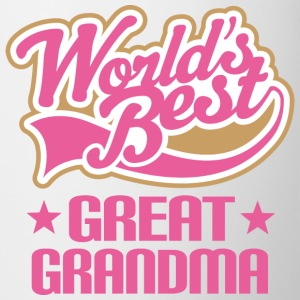 Great Grandma (Worlds Best) Bottles & Mugs - Coffee/Tea Mug