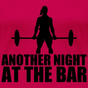 Another Night at the Bar Women's T-Shirts - Women's Premium T-Shirt