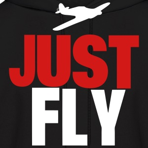 JUST FLY - Men's Hoodie