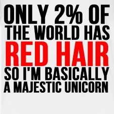 RED HAIR MAJESTIC UNICORN