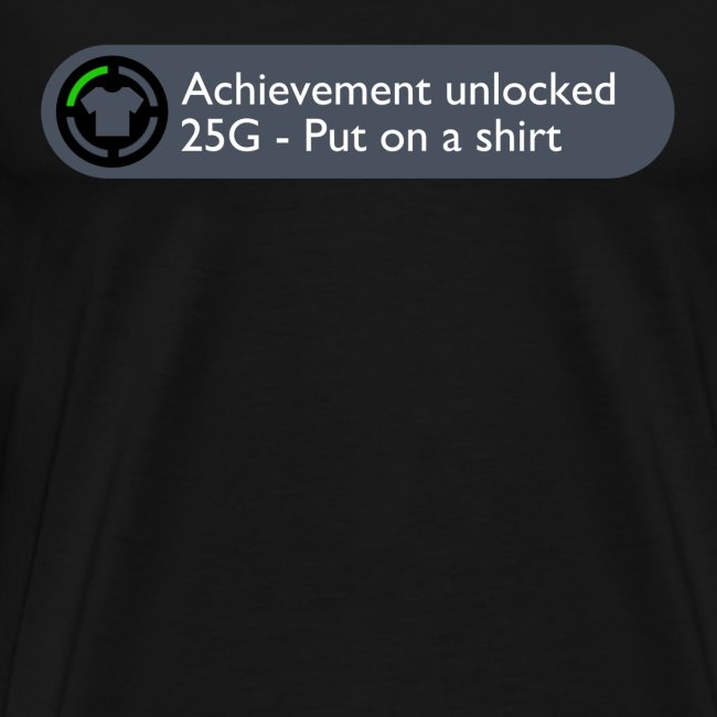 Achievement Shirt - M