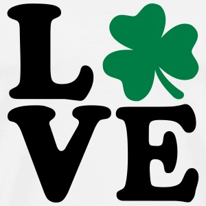 Shamrock love T-Shirts - Men's Premium T-Shirt
