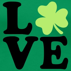 Shamrock love Women's T-Shirts