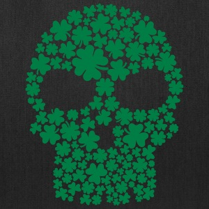 Shamrock skull Bags & backpacks - Tote Bag