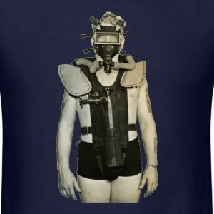 Vintage US Navy Frogman Diver - Men's T-Shirt