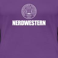 Design ~ Nerdwestern (women's premium tee)