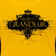 Design ~ Delusions of grandeur (women's slim fit organic t-shirt)