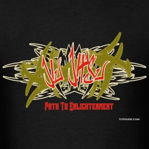 Jiu Jitsu Path To Enlightenment - Graffiti T-Shirts - Men's T-Shirt