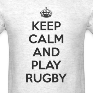 keep calm and play rugby T-Shirts - Men's T-Shirt