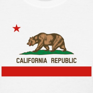 California Republic State Flag Womens T-shirt - Women's T-Shirt