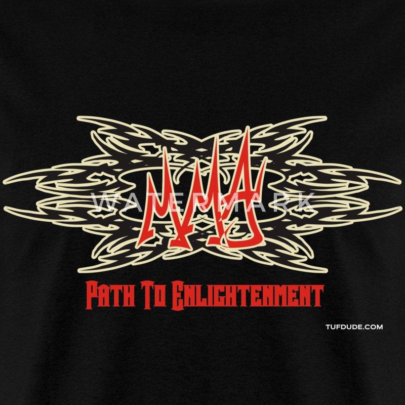Path To Enlightenment: MMA - Path To Enlightenment - Graffiti T-Shirt