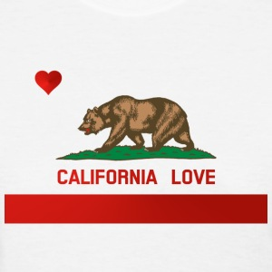 California Love State Flag Womens Standard T-shirt - Women's T-Shirt