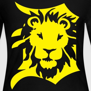 DETROIT LIONS yellow Long Sleeve Shirts - Women's Long Sleeve Jersey T-Shirt