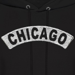 Throwback Chicago Arch Hoodies - Men's Hoodie
