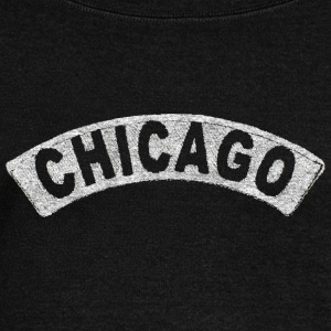 Throwback Chicago Arch Long Sleeve Shirts - Women's Wideneck Sweatshirt