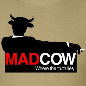 Mad Cow - Where the Truth Lies. T-Shirts - Men's T-Shirt